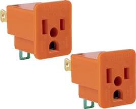Outlet Adapter Easy To Install Indoor Only Adapter Has An Electrical Rat... - $6.41