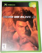 XBOX - DEAD OR ALIVE 3 (Complete with Manual)         - $8.00