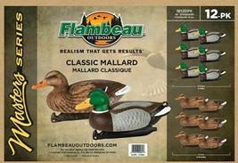 """Flambeau Master Series Classic Mallard 12 Pack - 14"""" Standard 1812DPK NEW - $79.19"""