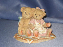 """Cherished Teddies - Nathaniel & Nellie - """"It's Twice As Nice With You"""". - $14.00"""