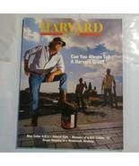 Harvard Magazine 1990 July Can you Tell a Harvard Grad Helmut Kohl S3 - $39.99