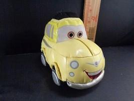 Disney Cars Yellow Car Luigi Plush Stuffed Animal Toy Doll - $6.43