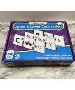MATCH IT! UPPER & LOWER CASE LETTERS, 26 SELF CORRECTING PUZZLES, EDUCAT... - $6.93