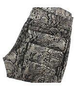 HUE Leggings - Foil Python Print Jean Leggings - Size: S - $39.20