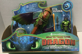 How to Train Your Dragon The Hidden World  Eret and Skullcrusher Action ... - $23.28