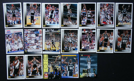 1993-94 Upper Deck San Antonio Spurs Team Set Of 19 Basketball Cards - $3.99