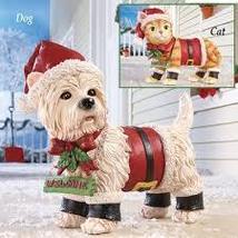 Motion Sensor Pet Christmas Yard Decoration, Cat - $18.08
