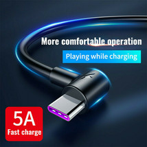 5A USB Type C Charger Data Cable Fast Charging For Huawei P30 Pro Samsun... - $9.60