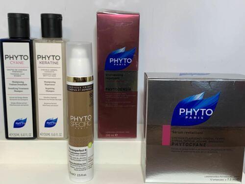 Lot Phyto Paris Plumping Shampoo Thermoperfect Revitalizing Serum Repairing