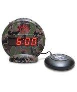 Sonic Alert Bunker Bomb Dual Extra Loud Alarm Clock with Bed Shaker, Vib... - $60.45