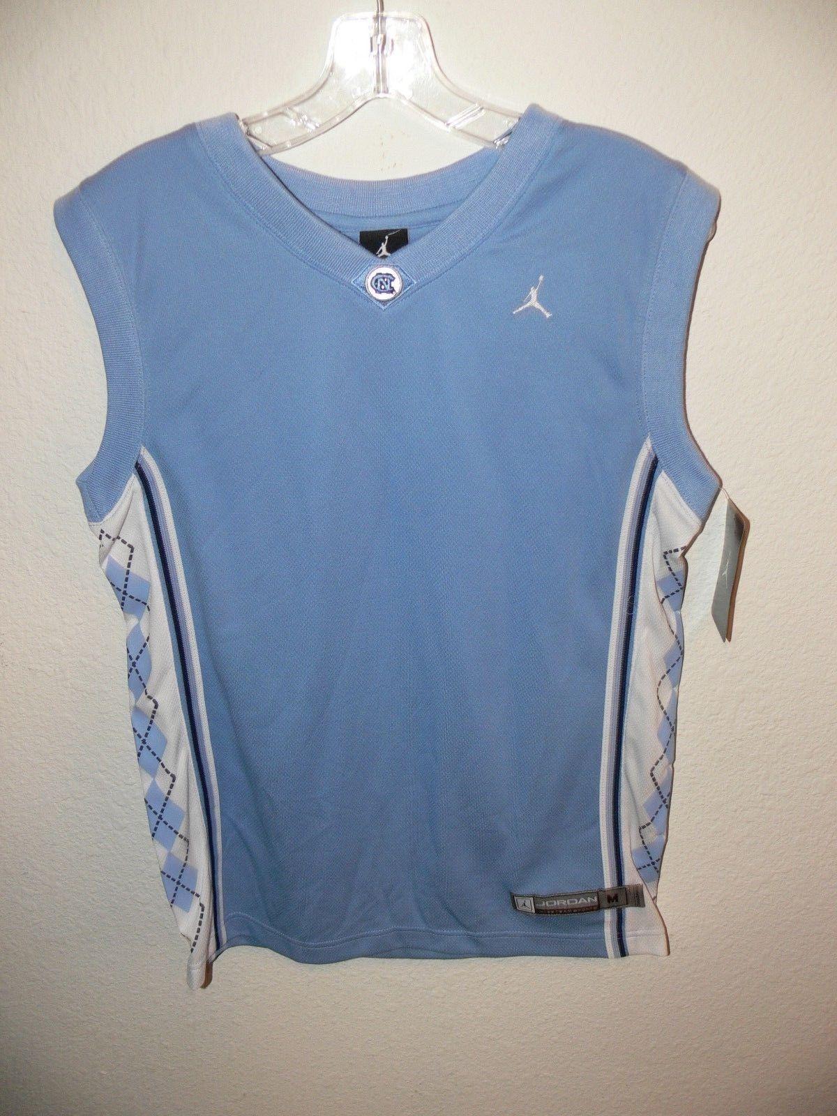 98cd2aac31e878 57. 57. Previous. NORTH CAROLINA Tar Heels NIKE Air Jordan Basketball Jersey  Shirt Mens Size Small