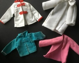 Lot of 4 Mattel Barbie Shillman Clone Jackets Coats - $9.41