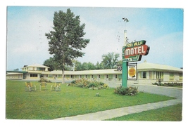 Ontario Canada Fort Villa Fort Erie Triple AAA Quality Motels Vintage Postcard - $4.99