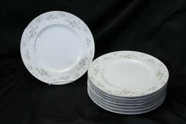 "Noritake Ireland Patience Dinner Plates 10.5"" Lot of 8 - $87.22"