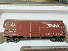 Walthers  Mainline # 910-51402 Santa Fe Slogan PS-1 40' Boxcars (4-PK)  HO-Scale image 3