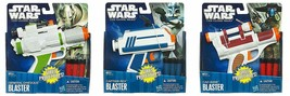 3 Star Wars The Clone Wars Blasters Captain Rex General Grievious Cad Bane - $12.86
