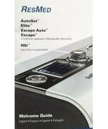 ResMed S9 Heated H5i Humidifier w/ Travel Case AutoSet Elite Escape - $375.00
