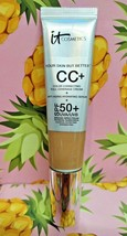 It Cosmetics Cc+ Full Coverage Cream Anti-Aging Serum Rich Foundation 1.08 Oz - $13.15