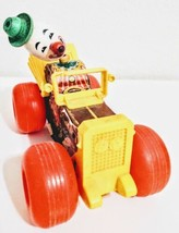 Vintage Fisher Price Jalopy Toy Circus Clown in Car Pull # 724 1965 - $59.39
