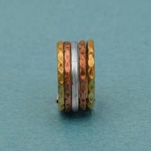 Spinner Ring! Multi Band Meditation Worry Ring,Anxiety Ring,Thin Rotatin... - $7.55