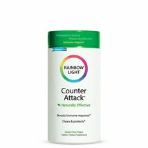 RAINBOW LIGHT COUNTER ATTACK Immune Support Fighter 90 TABLETS EXP. 03/2023 - $47.50