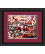 "University of Alabama Crimson Tide ""Tailgate Celebration"" -15 x 18 Frame... - $39.95"