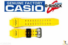 CASIO GA-1000-9BV G-Shock Original Yellow Rubber Watch BAND Strap GA-1000 - $48.95