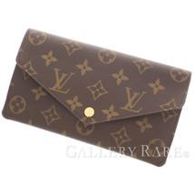 LOUIS VUITTON Jeanne Monogram Rose Ballerine Wallet M62203 Authentic 505... - $541.20