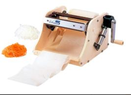 Girevole Affettatrice Chiba Peel S Verdura Giappone Casa Gadget da Cucina - $220.21