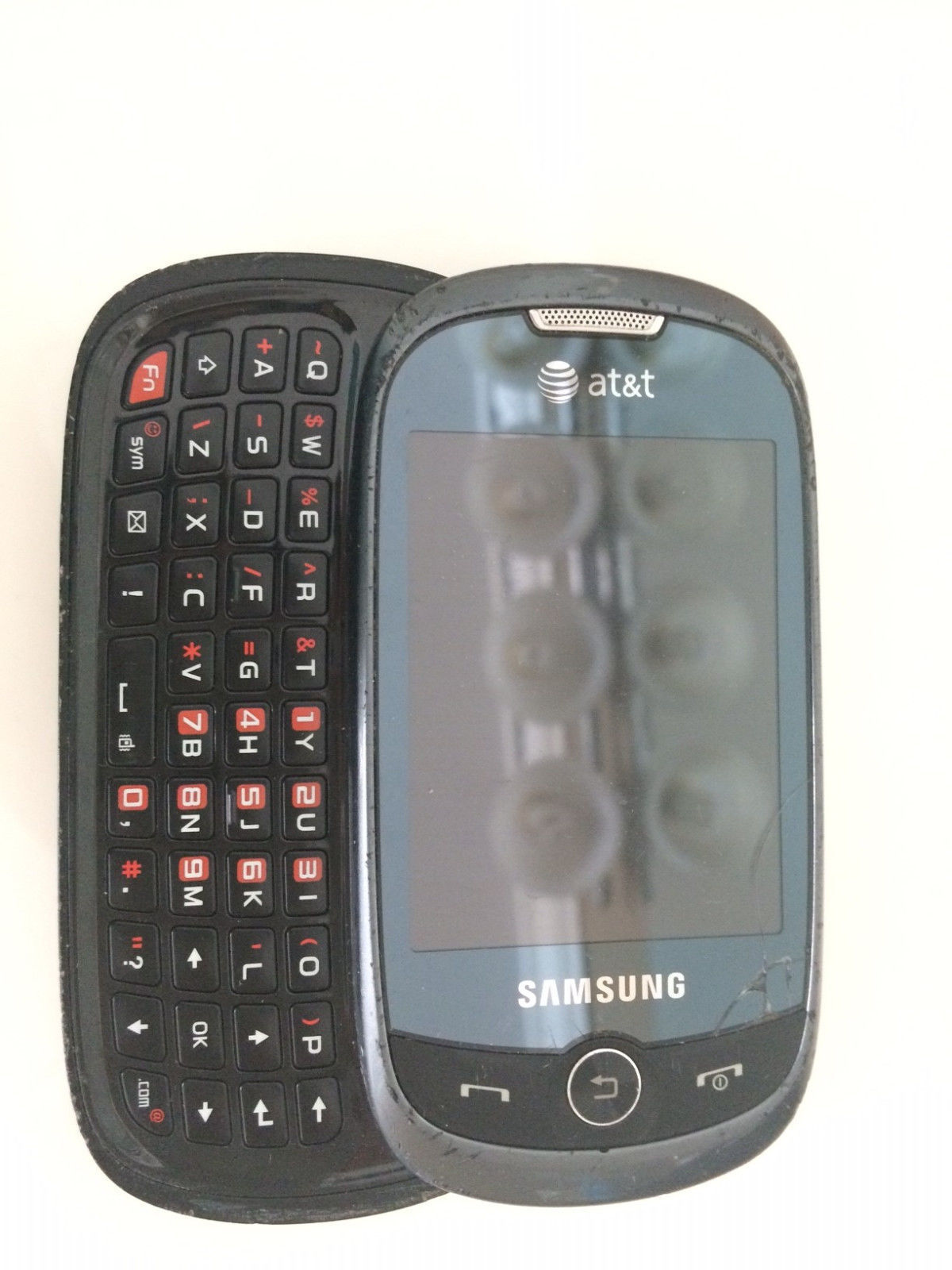 at t samsung sgh a927 flight ii black cell and 23 similar items rh bonanza com Samsung Messager Touch We Are Messengers