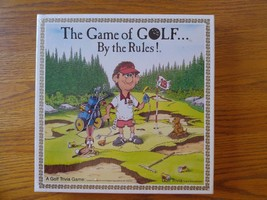 Golf Trivia Educational Board Game Ages 12+ New USGA Game of Golf By The... - $10.00