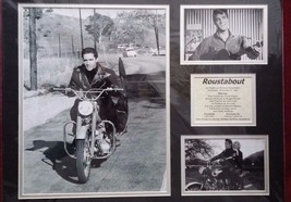 Elvis Presley Roustabout 3 photo Black Matted Picture Collage Movie Info... - $50.49