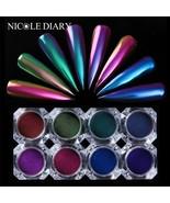 0.5g Chameleon Powder Mirror Nail Powder Chrome Pigment Nail Art Dust  G... - $5.19