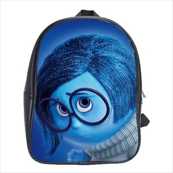 School bag 3 sizes inside out sadness - $39.00 - $43.00
