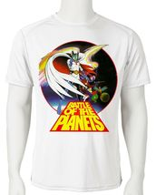 Battle Planets Dri Fit graphic Tshirt moisture wicking superhero anime SPF tee image 2