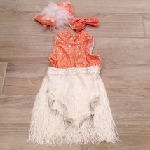 Star Styled SEQUIN SHOWGIRL Flapper COSTUME 1920's  girls sz 2-4 kids - $67.32