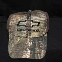 Chevy Trucks Realtree Camo Adjustable trucker baseball cap hat - $10.99