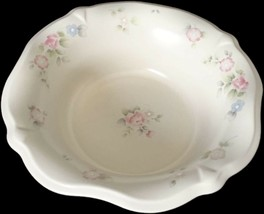 """Pfaltzgraff TEA ROSE  10""""  Sculpted Serving Bowl with Rose in Center FLAW - $18.99"""