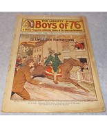 Liberty Boys of 76 Weekly Juvenile American Revolution Pulp Magazine Aug... - $19.95