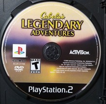 Cabela's Legendary Adventures (Sony PlayStation 2, 2008) - $4.99