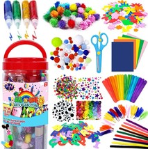 FunzBo Arts and Crafts Supplies for Kids - Craft Art Supply Kit for Todd... - $23.99+