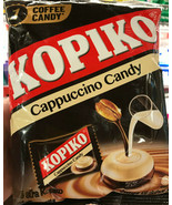 Kopiko Cappuccino Coffee Hard Tasty Candy Strong Rich Aromatic Creamy Big 3.8 Oz - $19.59