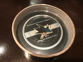 San Jose Sharks Nhl Official Game Puck Gary B Bettman Canada - $16.95
