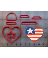 USA Heart 266-982 Cookie Cutter Set - $6.00+