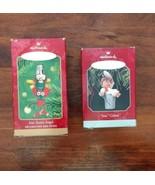 2 Hallmark Keepsake Ornament Sew Gifted 1998 Sew Sweet Angel 2001 - $14.50