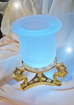 Free W $99 Haunted Magnifying Wishes Crystal Bowl W Stand Magick 7 Scholars - $0.00