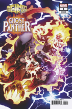 Infinity Wars Ghost Panther 1 Kubert Connecting Variant  - $3.95