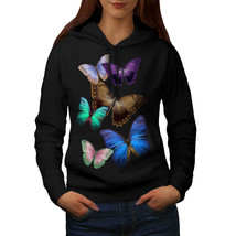 Butterfly Multicolor Sweatshirt Hoody Spring Fly Women Hoodie - $21.99+