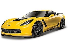 *Maisuto Maisto 1/24 2015 Corvette Corvette Z06 model Car die-cast car A... - $41.20