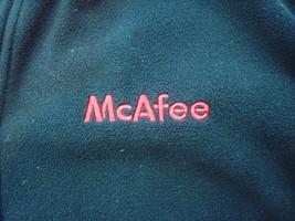 Mcafee Virus Reißverschluss Fleece Jacket Landmark Schwarz Größe L Herren T71 image 2